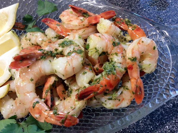 Lime And Cilantro Shrimp Recipe
