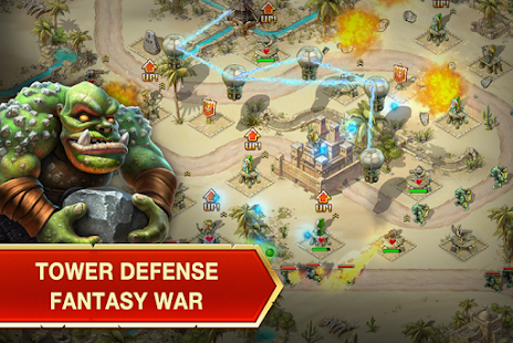 Toy Defense: Fantasy Tower TD Screenshot 1