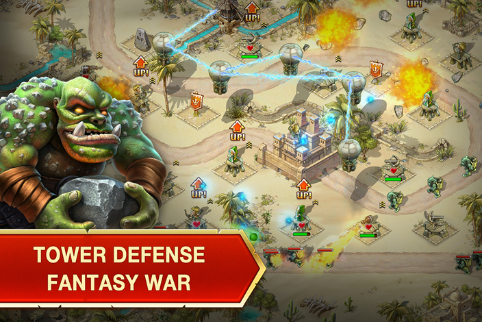 Toy defense fantasy tower td android apps on google play