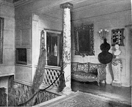 Photo: 1903 Upper hall in a city house