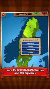 GeoFlight Sweden - Geography screenshot 11