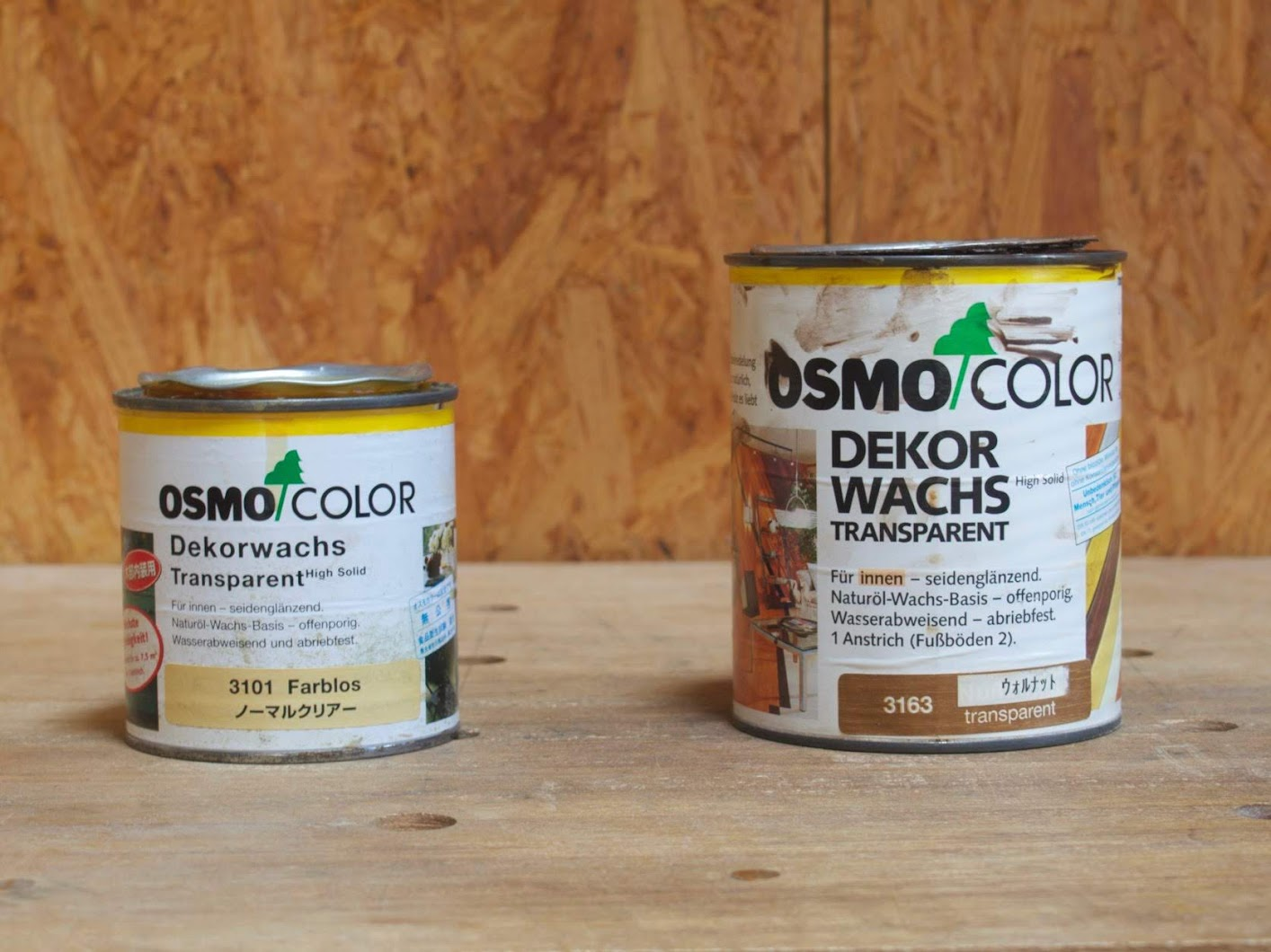 OSMO COLOR 3101 & 3163