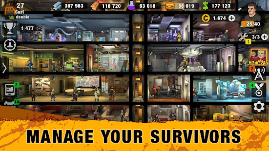 Mod Game Zero City: Zombie Shelter Survival for Android