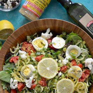 Detox Arugula Salad with Nutritional Yeast Benefits Recipe