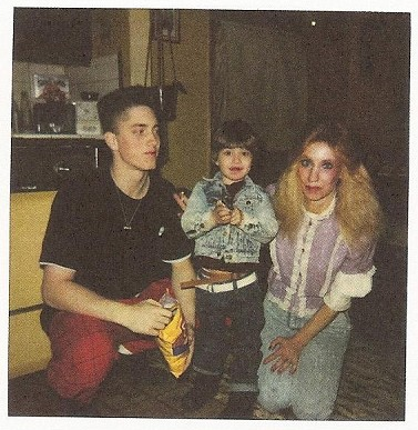 A photo of Eminem when he was younger.