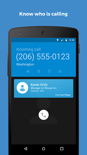Mr. Number-Block calls & spam Screenshot