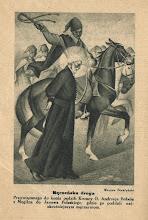 """Photo: Ilustracja z broszury  """"Na uroczystość kanonizacyjną ANDRZEJA BOBOLI T. J."""", 1938 r."""
