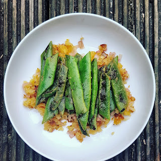 Zingy Crumbed Green Beans