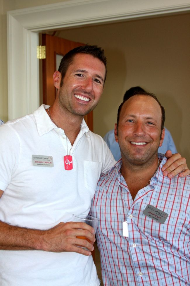Photo: Joining Hearts said thanks to its donors at a Patron-Sponsor Appreciation Party on July 8 at Nelson Mullins law firm. (Photo by Sher Pruitt) View the full photo album: http://www.projectqatlanta.com/news_articles/view/joining_hearts_shows_patrons_some_love_photos?gid=11440