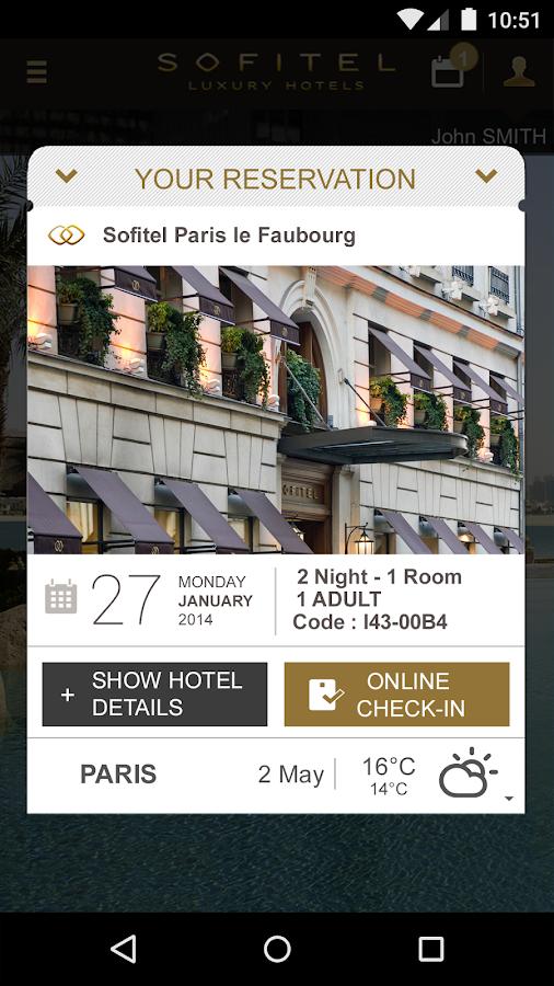 Sofitel Luxury Hotels - screenshot