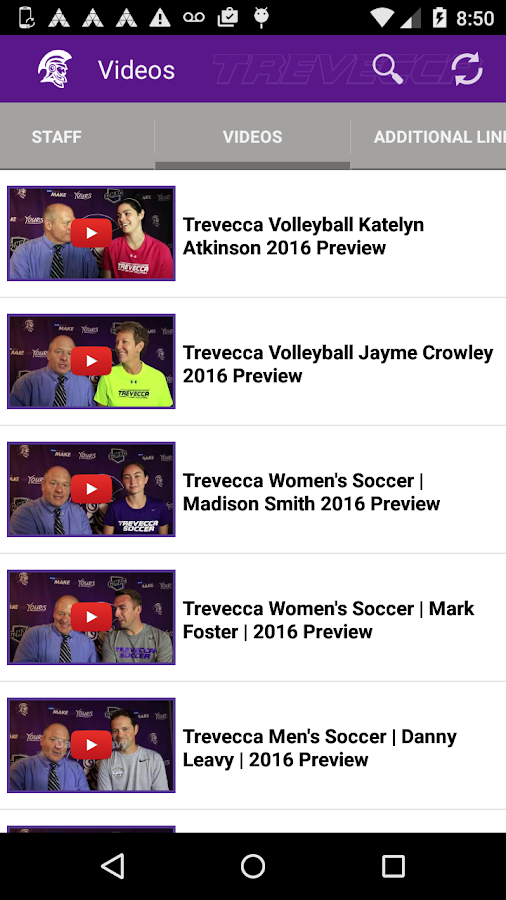 Trevecca Trojans- screenshot