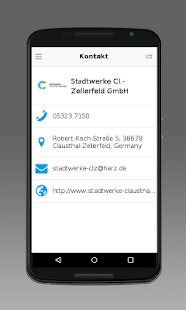 Stadtwerke Cl.-Zellerfeld- screenshot thumbnail