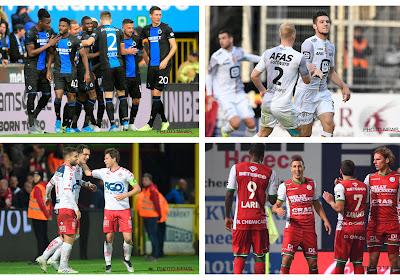 De ene Brugse machine is de andere niet, derbysfeer in de Vlasstreek, sterk Mechelen VS arme arbitrage en trammelant in Antwerpen