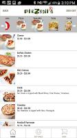 Screenshot of Piezonis App