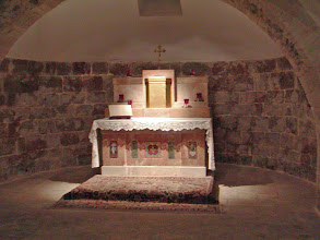 Photo: Chapel for the fourth Station of the Cross--Jesus meets his Mother.