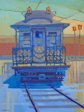 "Photo: ""Shipyard Special"", acrylic on canvas 16"" x 12"", © Nancy Roberts"