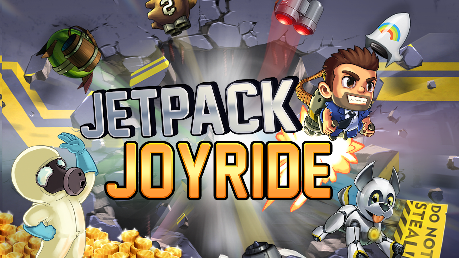 Jetpack Joyride- screenshot