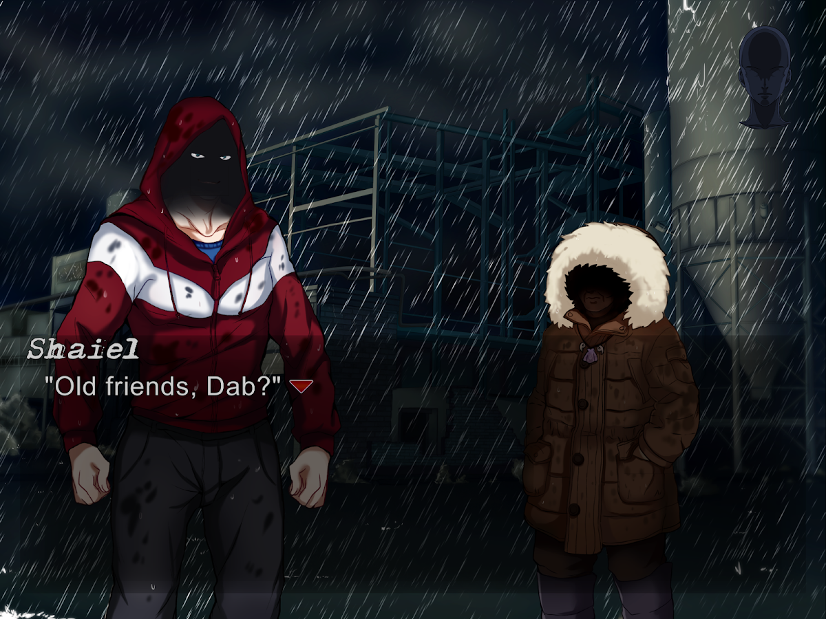 Omega Pattern HD Visual Novel- screenshot