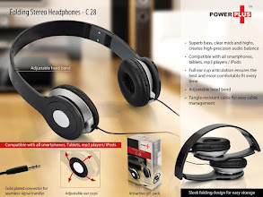 Photo: Folding Stereo Headphone - C 28
