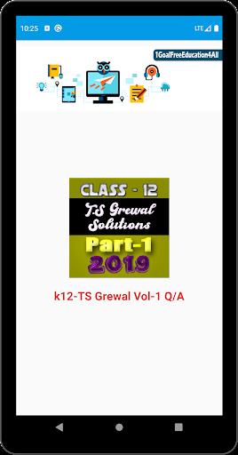 Account Class-12 Solutions (TS Grewal Vol-1) 2019 screenshots 3