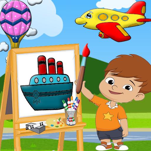 Schattig klein meisje vliegen een vliegtuig stockvector (rechtenvrij)  451837513