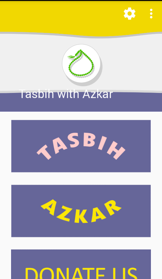 Tasbih with Azkar- screenshot