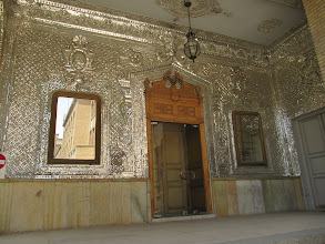 Photo: Day 138 -  Mirrored Entrance to a Building in  Golestan Palace Complex, Tehran
