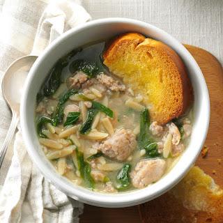 Barbara's Italian Wedding Soup.