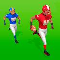 Football stars icon