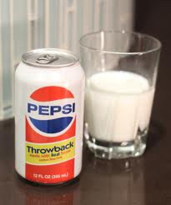 Lavern & Shirley Drink Pour equal amounts of pepsi and milk in a tall glass-...