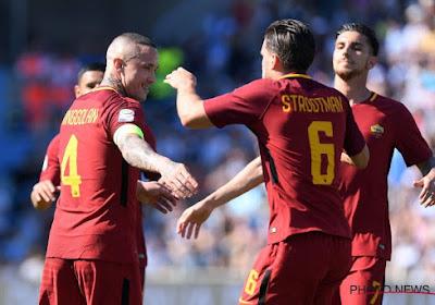 ? Nainggolan buteur et capitaine lors d'une victoire aisée de la Roma, nouveau coup d'arrêt pour le Celtic et Boyata