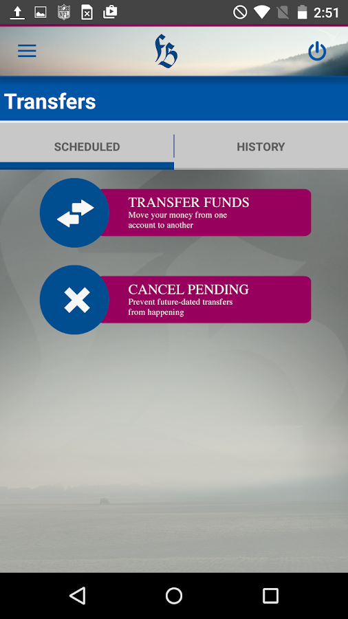 FBW Mobile Banking- screenshot