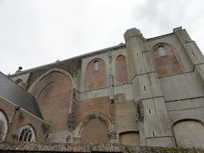 Photo: De grote kerk in Veere is zo te zien verschillende keren verbouwd