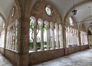 Photo: The Franciscan monestery is the third oldest in the world and the oldest with continuous use.  It was built in 1317.