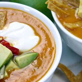 Fall Fiesta Sweet Potato Soup