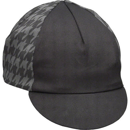 Pace Traditional Cycling Cap Mini Houndstooth Black/Gray