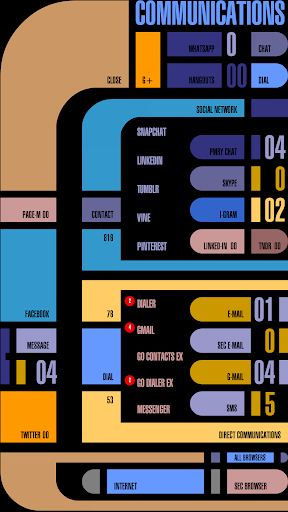 Screenshot for ✦ TREK ✦ Total Interface in United States Play Store