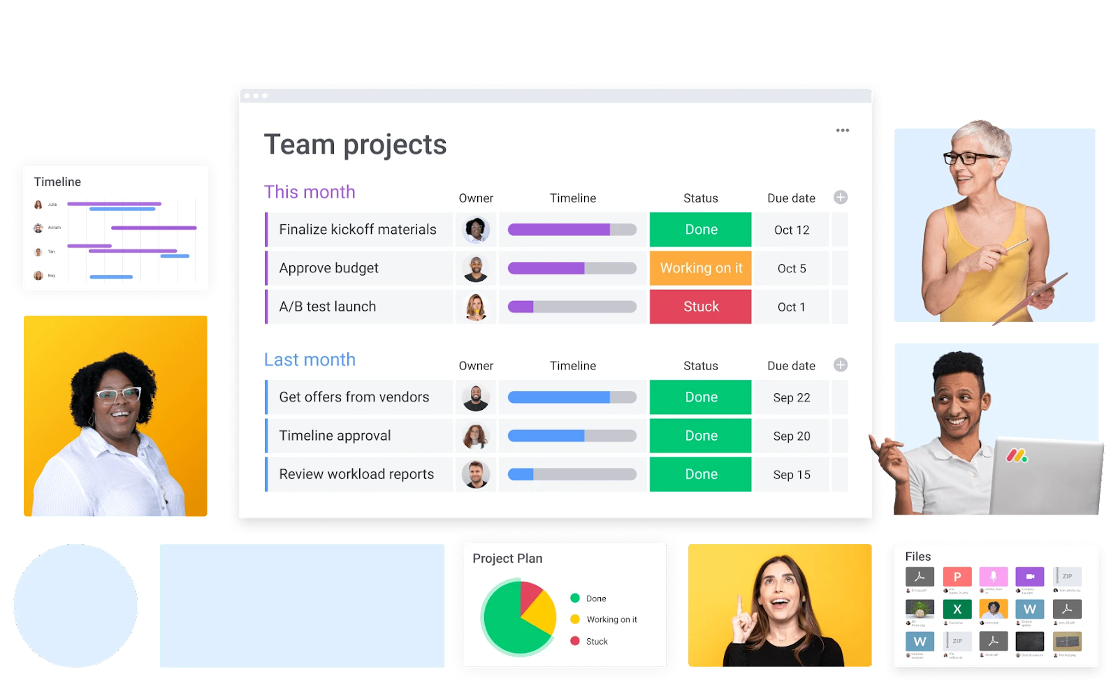 Monday.com is one of the top tools for a project manager in the project management category.