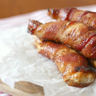 Sweet And Spicy Bacon-wrapped Chicken