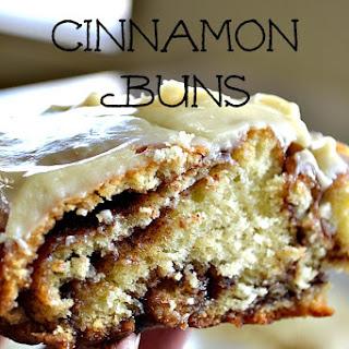 Giant Cinnamon Buns.