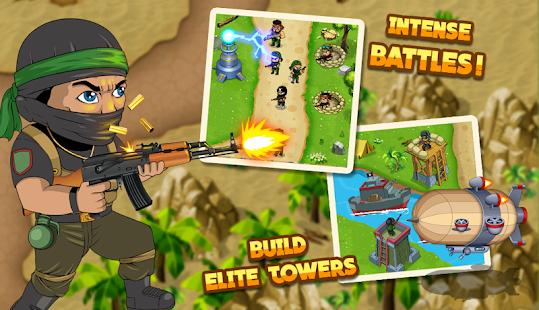 Turret Defense: BTD Battles - náhled
