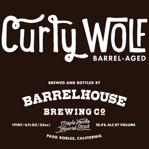 Logo of BarrelHouse Curly Wolf NITRO - Maple Vanilla Bourbon Stout [2016]
