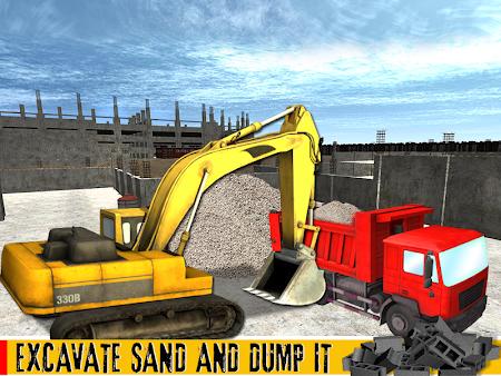 Sand Excavator Crane 1.1 screenshot 70016