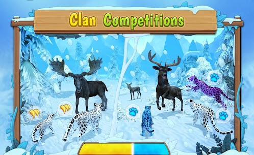 Snow Leopard Family Sim Online  Apk Download For Android and Iphone 5