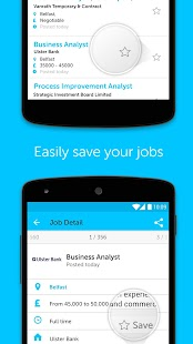 NIJobs job search app- screenshot thumbnail