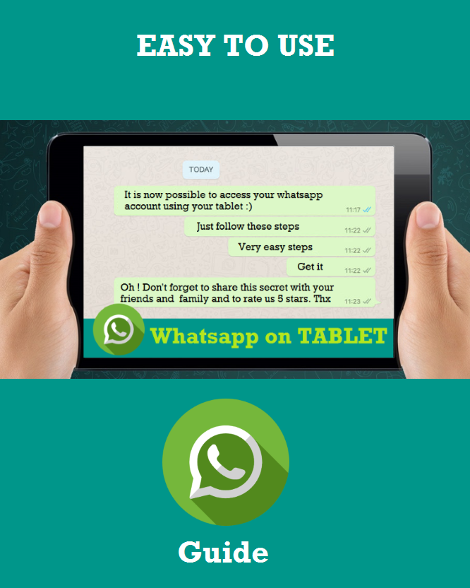 Guide WhatsApp to Tablet- screenshot