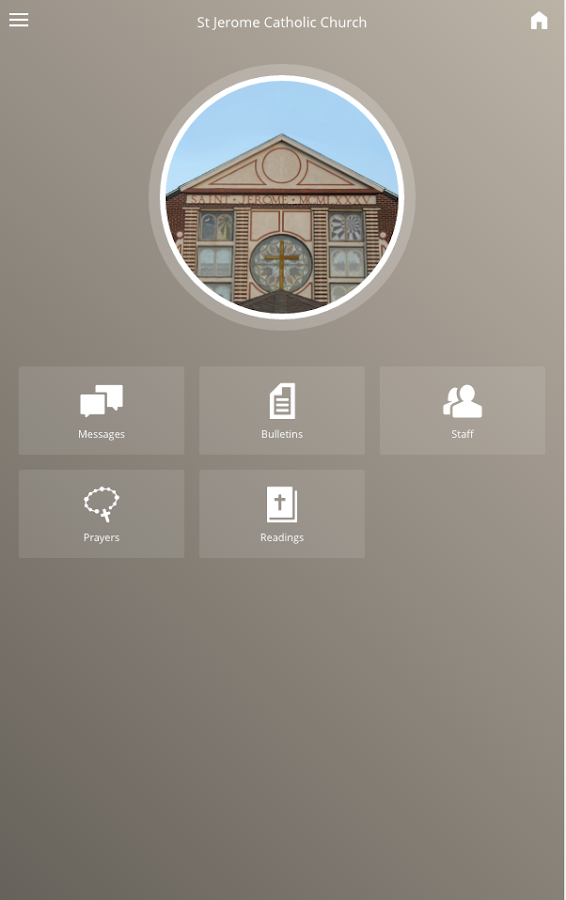St Jerome Catholic Church- screenshot