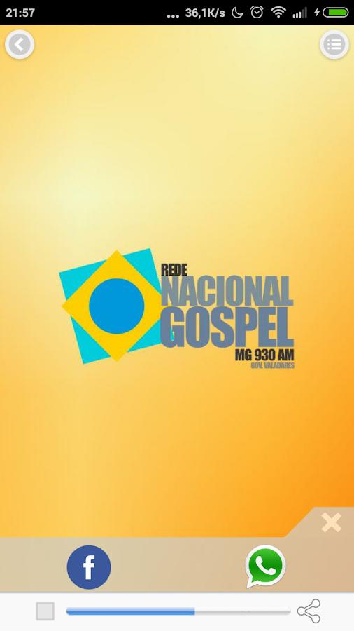 Nacional Gospel- screenshot