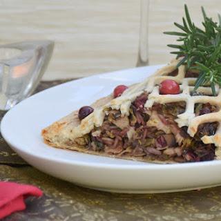 Winter Vegetable Coulibiac with Porcini Mushroom Sauce [vegan]