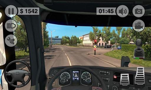 Grand Truck Driving Game - Euro Truck Sim 3D Screenshot
